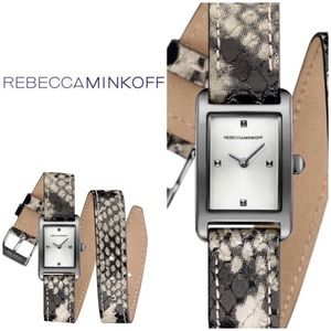 Rebecca Minkoff - Wrap Leather Strap Watch